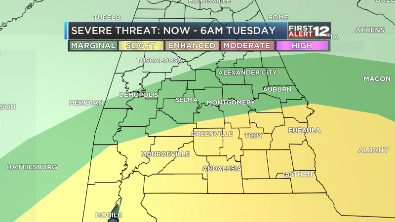 Severe Threat Outlook day UNO