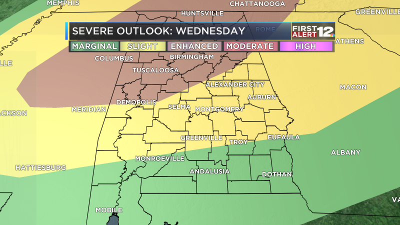 Severe Threat Outlook day 2