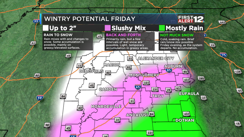Wintry Accumulations
