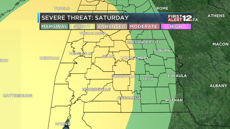 Severe Threat Outlook day 3