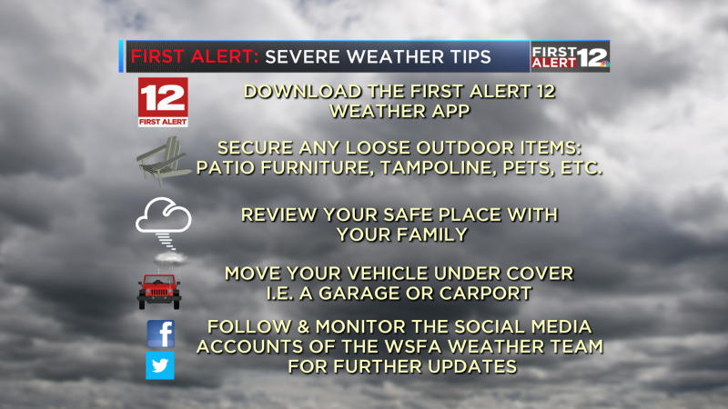 Severe Weather Tips